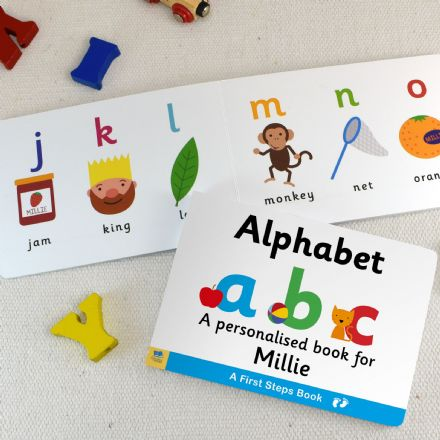 Personalised First Steps Books